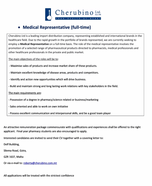 Medical rep vacancy 2017-page-0