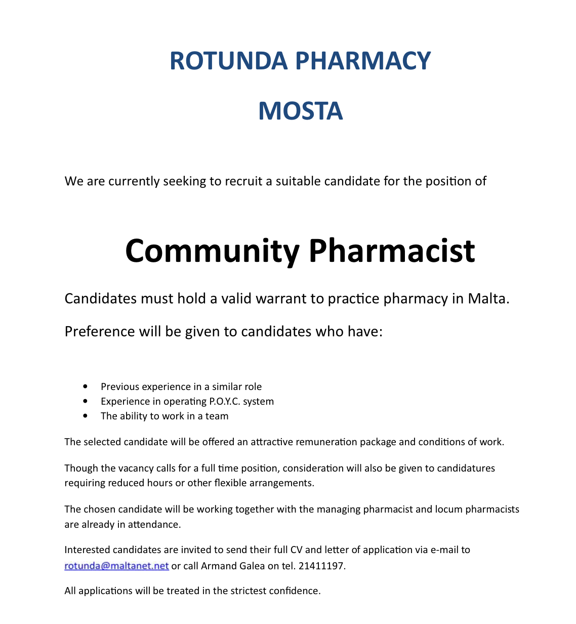 locum pharmacist covering letter Health care cover letter sample cover letter start-up tip: whatever aspect of health care you are interested in pursuing, be sure to include the essential elements that will capture a hiring manager's attention and motivate him or her to call you for an interview.