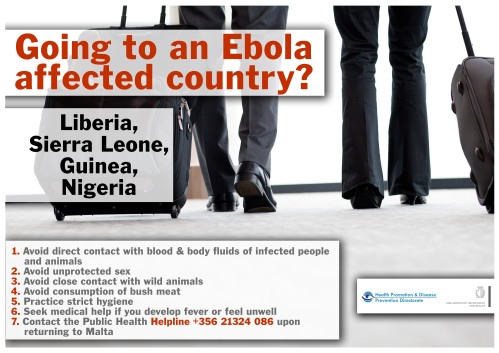 Ebola Goingl Poster  2014
